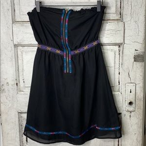 Urban Outfitters Ecote Strapless mini Dress